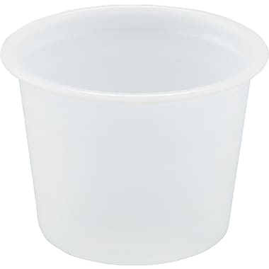 SOLO® Plastic Souffle Portion Cup, Translucent, 1 oz