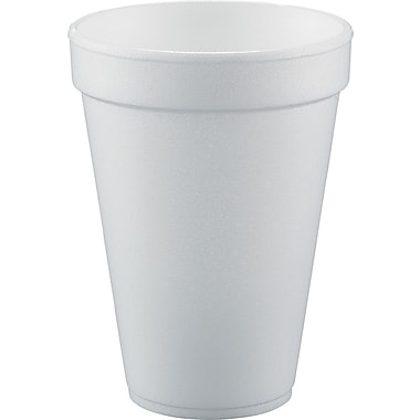 Conex® Flush Fill Small Drink Cup, White, 10 oz