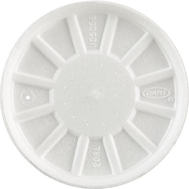 Dart® 20RL Foam Cup Lid, White, Fits: 20 oz. Cups, 500/Case