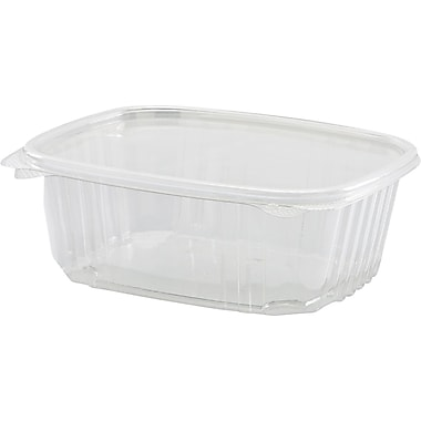 Secure Seal® Hinged Deli Container, 2 5/8in. H x 6 2/5in. W x 7 1/4in. D