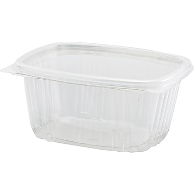 Secure Seal® Hinged Deli Container, 2 5/8in. H x 4 1/2in. W x 5 3/8in. D