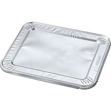 Handi-Foil® Steam Table Foil Lid, 10 7/16in. W x 12 1/5in. D