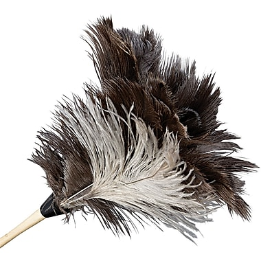 UNISAN® 13FD Gray Bristle Natural Handle Professional Duster, 13in.(L)