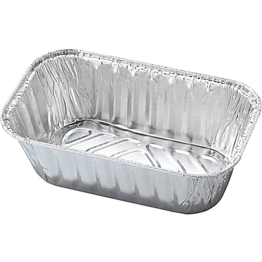 Handi-Foil® Baking Loaf Pan, 5 23/32in. x 3 5/16in. Top In, 6 3/32in. x 3 23/32in. Top Out