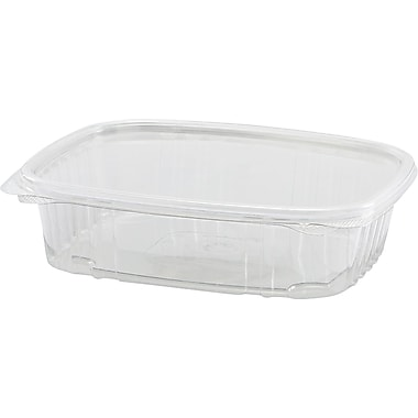 Secure Seal® Hinged Deli Container, 2 1/4in. H x 6 2/5in. W x 7 1/4in. D
