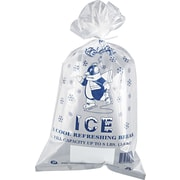 Inteplast® IC1 Ice Bags With Twist Ties