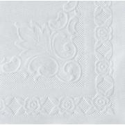 """Hoffmaster® 601SE1014 Dubonnet Placemat, White, 10""""(W) x 14""""(L)"""
