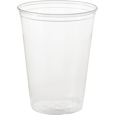 SOLO® PETE Ultra Clear™ Translucent Plastic Cold Cups, Individually Wrapped, 10 oz., 500/Case