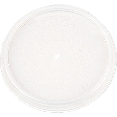 Dart® 32JL Vented Cup Lid, 32 oz., Translucent, 500/Carton