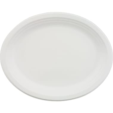 Chinet® Classic Tableware Plate, 9 3/4in. x 12 1/2in.