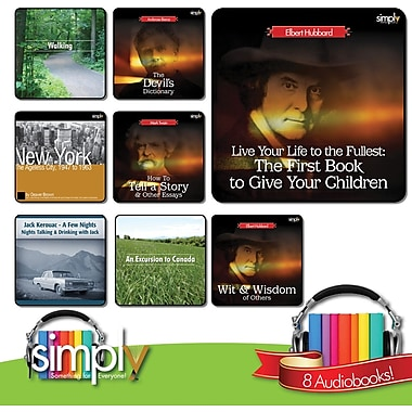 Great American Non-Fiction Books and Stories Audiobooks Bundle - Download
