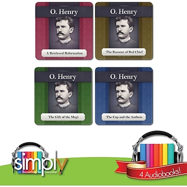 Simply O'Henry Best 4 Short Stories Audio Books Bundle - Download