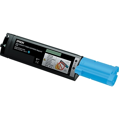 Epson S050189 Cyan Toner Cartridge, High-Yield