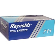 "Reynolds Wrap RFP711 Pop-Up Interfolded Aluminum Foil Sheets, 9""(W) x 10.75(L), Silver, 3,000 Sheets/Carton"