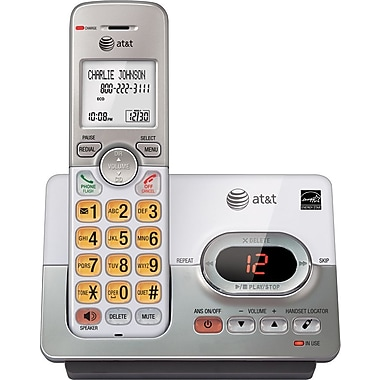 AT&T EL52103 DECT 6.0 Cordless Telephone with Caller ID/Call Waiting/Answering System