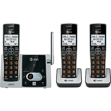 AT&T CL82313 3 Handset Cordless Telephone with Answering System/Caller ID/Call Waiting