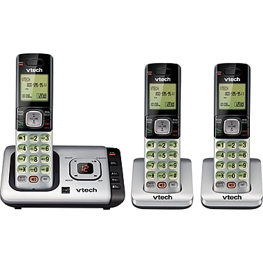 Vtech CS6729-3 3 Handset Cordless Telephone with Answering System/Caller ID/Call Waiting