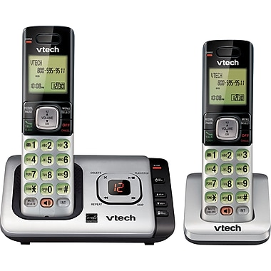 Vtech CS6729-2 2 Handset Cordless Telephone with Answering System/Caller ID/Call Waiting