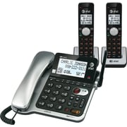AT&T CL84202 2 Handset Corded/Cordless Phone System with Caller ID/Call Waiting