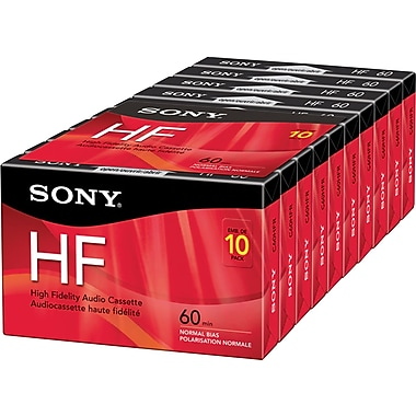 Sony® High Fidelity Audio Cassette, 60 Minutes