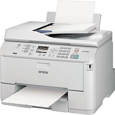 Epson® WorkForce Pro WP-4590 Multifunction Inkjet Printer, 13 2/5in. H x 18 1/10in. W x 16 1/2in. D