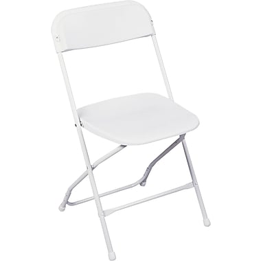 Bridgeport™ Stack Rental Folding Chair, White