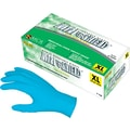 NitriShield® Premium Disposable Gloves, Large, Powdered