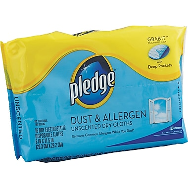 Pledge® Grab-It™ Disposable Refill Duster, 11 1/2in. L x 8in. W