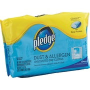 """Pledge® Grab-It Disposable Refill Duster, 11 1/2"""" L x 8"""" W"""