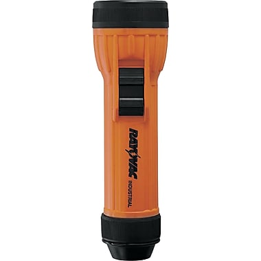 Rayovac® 2D Safety Flashlight, Orange/Black