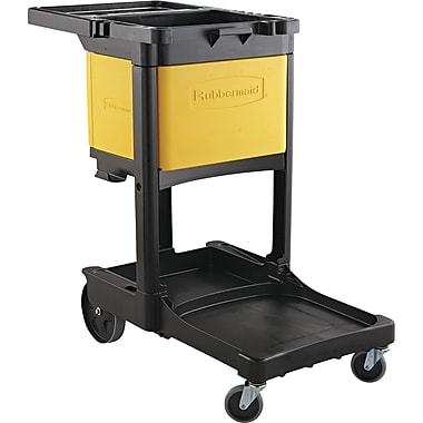 Rubbermaid® Locking Janitor Cart Cabinet, 20in. L x 16in. W x 11 1/4in. H
