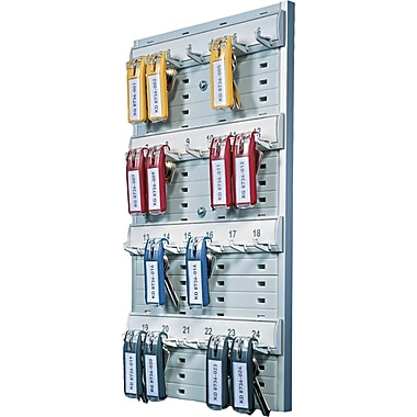 Durable Office Products Key Rack, 14 1/8in. H x 8 3/8in. W x 1 3/8in. D