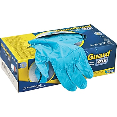 Kleenguard® G10 Gloves, Large, Powder Free