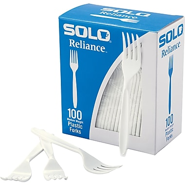 SOLO® Reliance® Forks, 10 Boxes/Case
