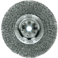 Trulock™ Narrow-face Crimped Wire Wheel, 4in. dia