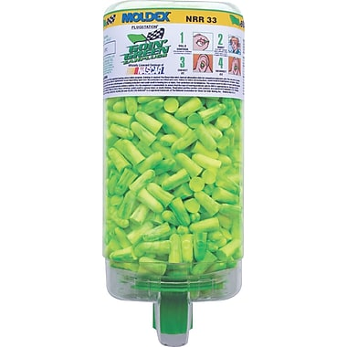 Moldex® PlugStation® Uncorded Earplug Dispenser with Goin' Green® Earplug, NRR 33 dB