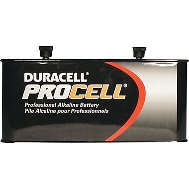 Duracell Screw Top Lantern Battery, 6 V, 6/Pack