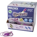 Moldex Rockets® Reusable Corded Earplug, Purple, NRR 27 dB