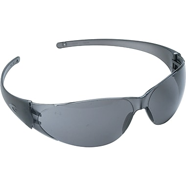 Crews® Checkmate® ANSI Z87 Safety Glass, Grey Lens Tint