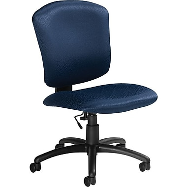 Global Supra-X Manager's Mid-Back Task Chair, Midnight