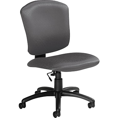 Global Supra-X Manager's Mid-Back Task Chair, Granite