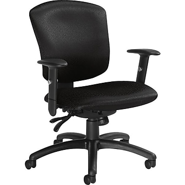 Global Supra-X Manager's Mid-Back Multi-Tilter Chair, Charcoal