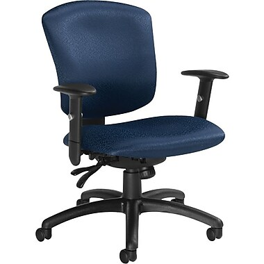 Global Supra-X Manager's Mid-Back Multi-Tilter Chair, Midnight