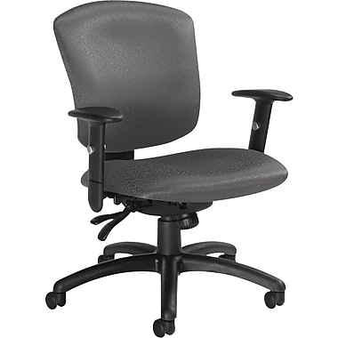Global Supra-X Manager's Mid-Back Multi-Tilter Chair, Granite