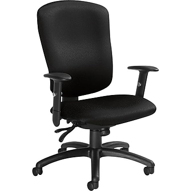 Global Supra-X Manager's High-Back Multi-Tilter Chair, Charcoal