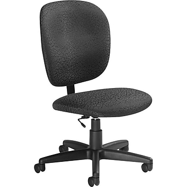 Global Yorkdale Low Back Task Chair Carbon Staples