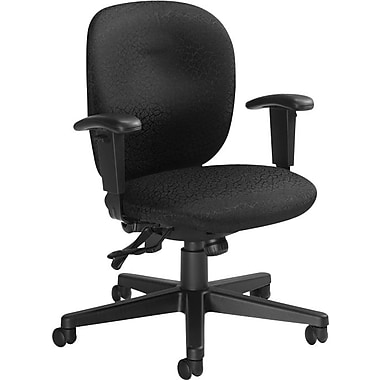 Global Yorkdale Low-Back Multi-Tilter Chair, Carbon