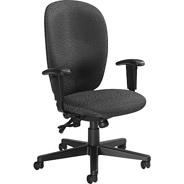 Global Yorkdale High-Back Multi-Tilter Chair, Carbon