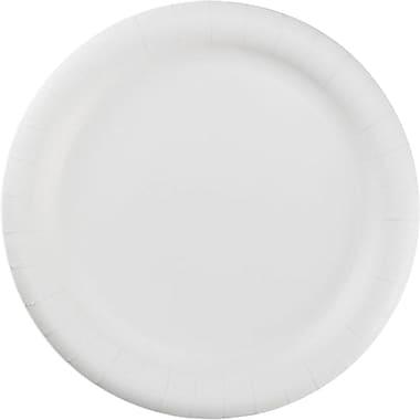 Hoffmaster® PL7095 Dinnerware Plate, 9in.(Dia), White, 500/Carton