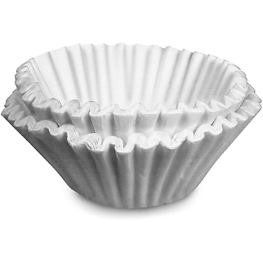 Bunn® 1000 Paper Regular Coffee Filter For 12 Cup Commercial Brewers, 1000/Case